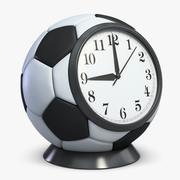 Football Alarm Clock 3d model