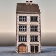 유럽 건축물 004 3d model
