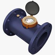 Промышленный счетчик воды 3d model