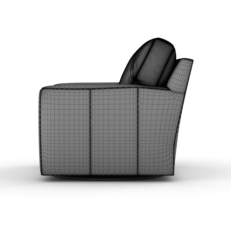 Strange Crate And Barrel Axis Leather Swivel Chair 3D Model 38 Uwap Interior Chair Design Uwaporg