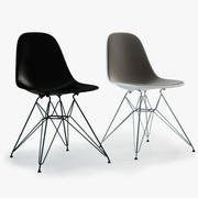 Photoreal Eames Plastic Side Chairs (DSR) 3d model