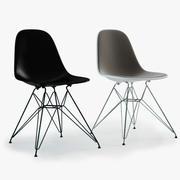 Фотореалистичные пластиковые стулья Eames (DSR) 3d model