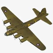 B17 Memphis belle 3d model
