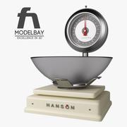 汉森秤 3d model