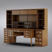 陶器の納屋 - プリンターのオフィススイート 3d model