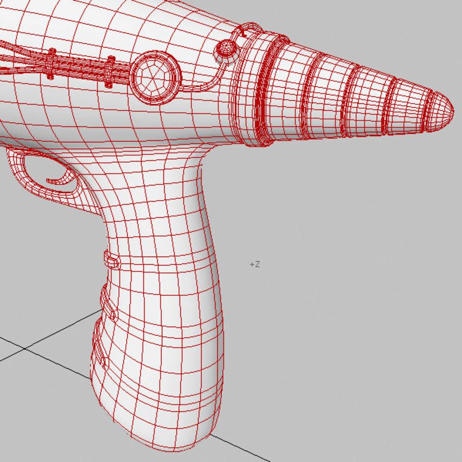 复古射线枪 royalty-free 3d model - Preview no. 18