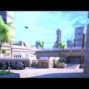 공상 과학 도시 3d model