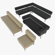 Sofa Quadro 3d model
