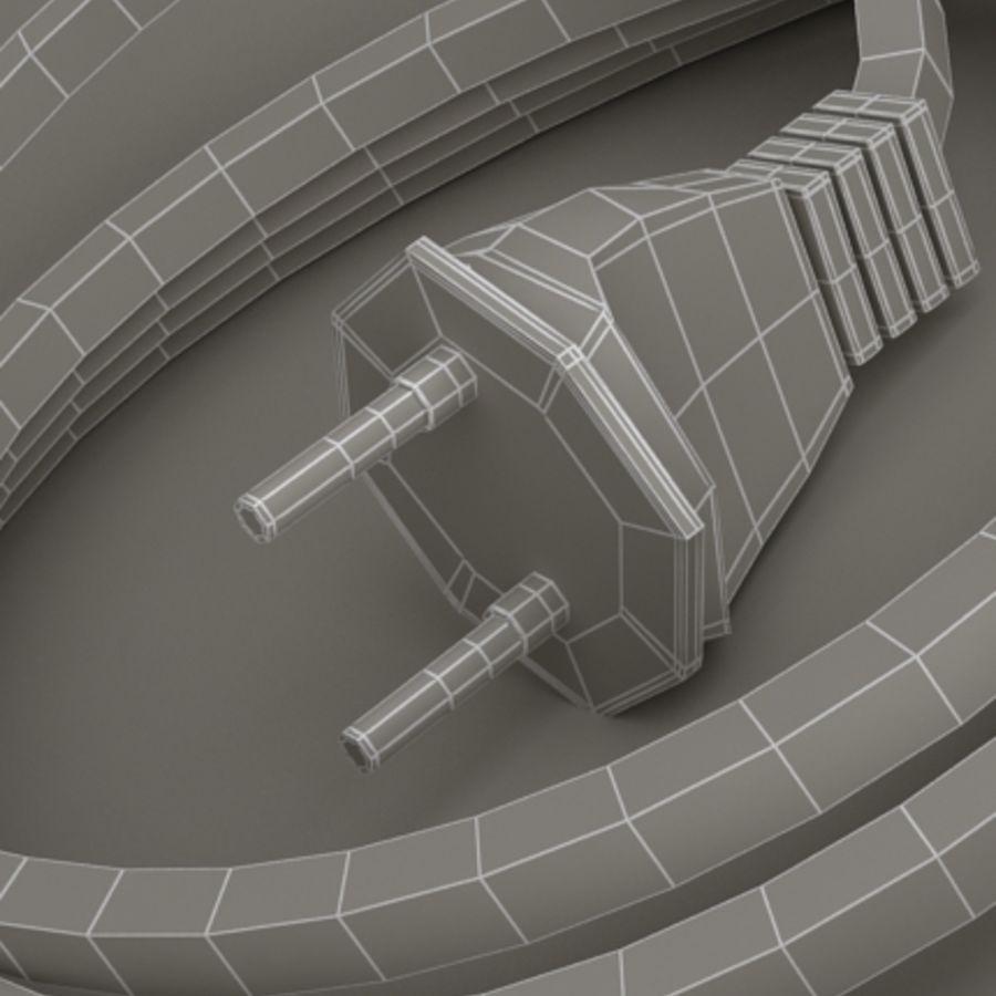 listwa zasilająca royalty-free 3d model - Preview no. 7