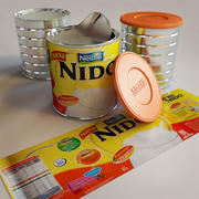 Nido Instant Milk 3d model