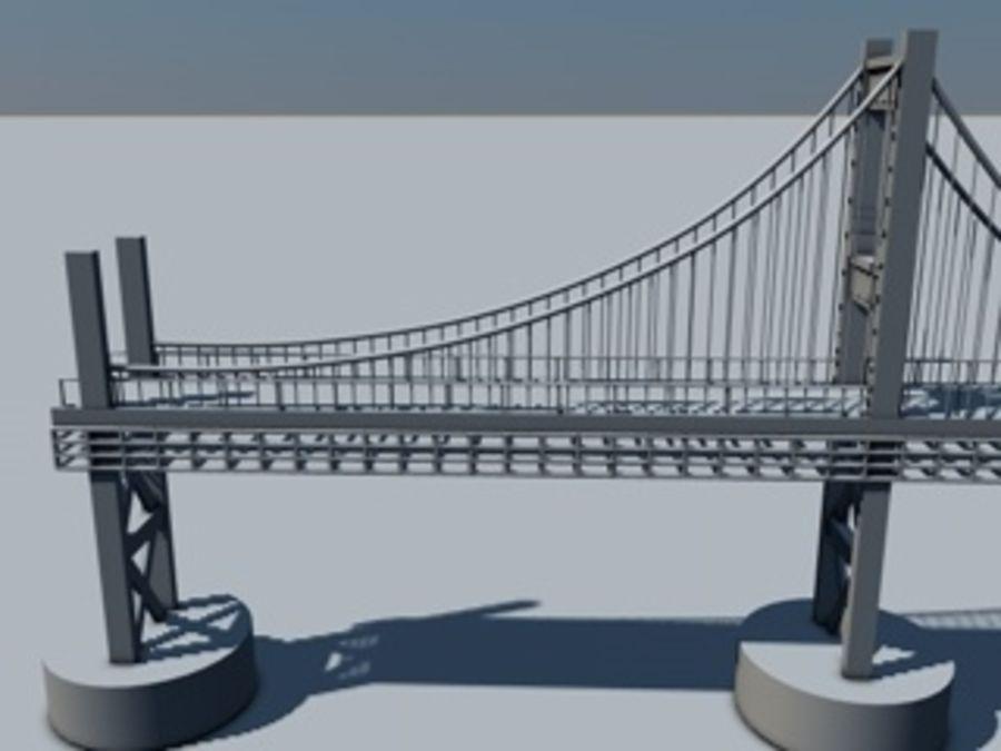 Bridge 3D Model $28 -  obj  dae  3ds  c4d - Free3D