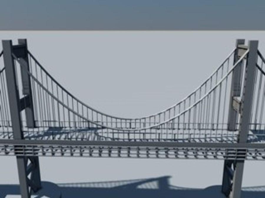 ponte royalty-free 3d model - Preview no. 2
