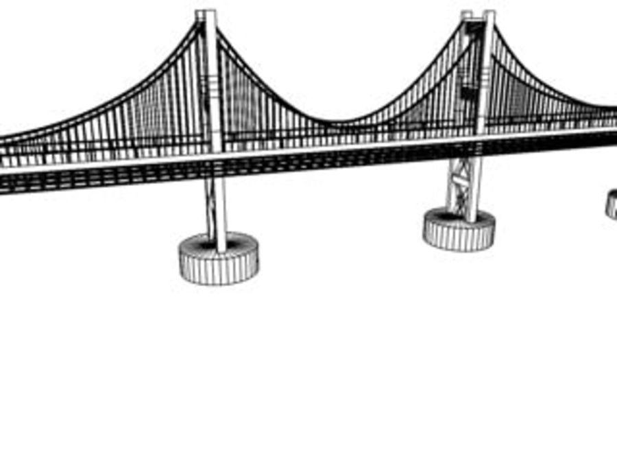 ponte royalty-free 3d model - Preview no. 5