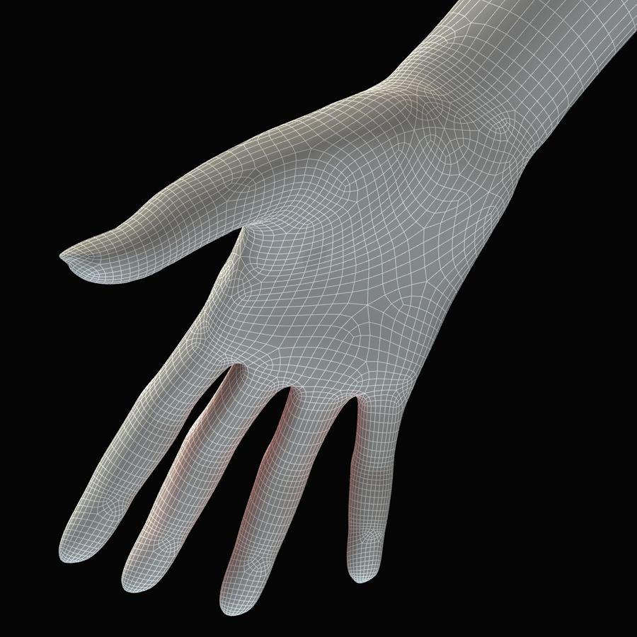 Kvinna Anatomi Slim royalty-free 3d model - Preview no. 46