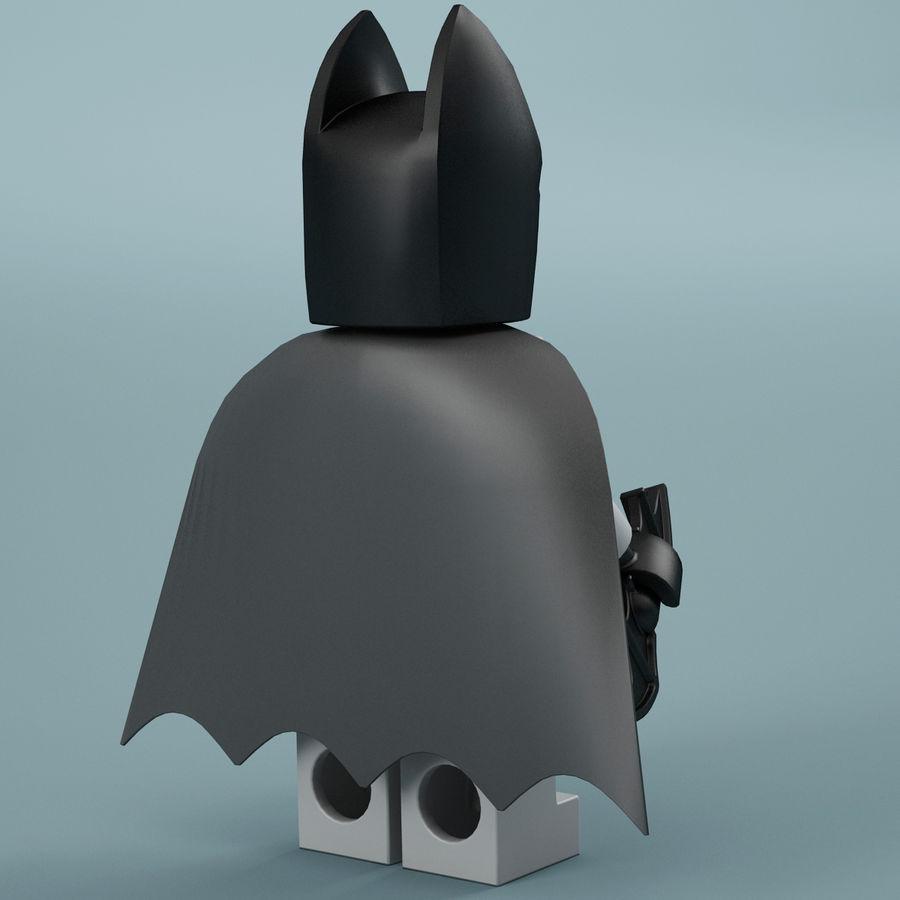 Lego Batman royalty-free 3d model - Preview no. 8