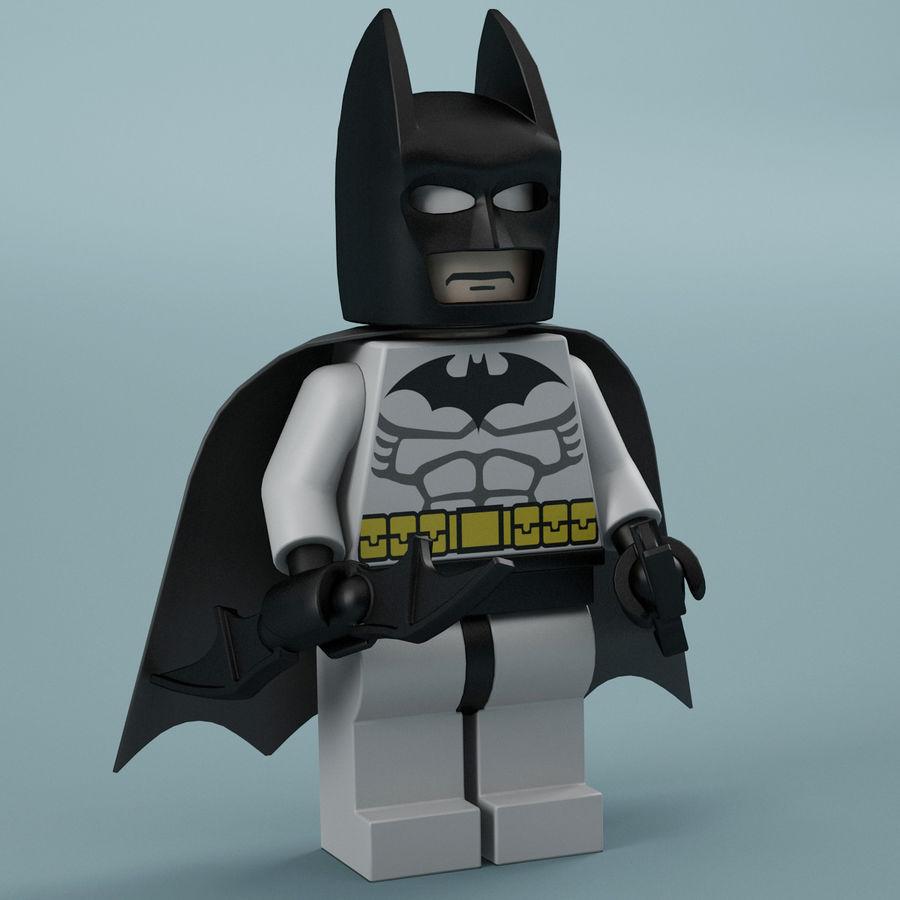 Lego Batman royalty-free 3d model - Preview no. 11