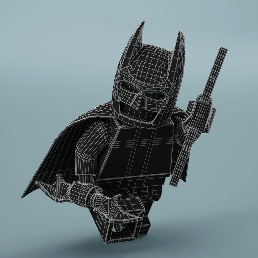 Lego Batman royalty-free 3d model - Preview no. 18