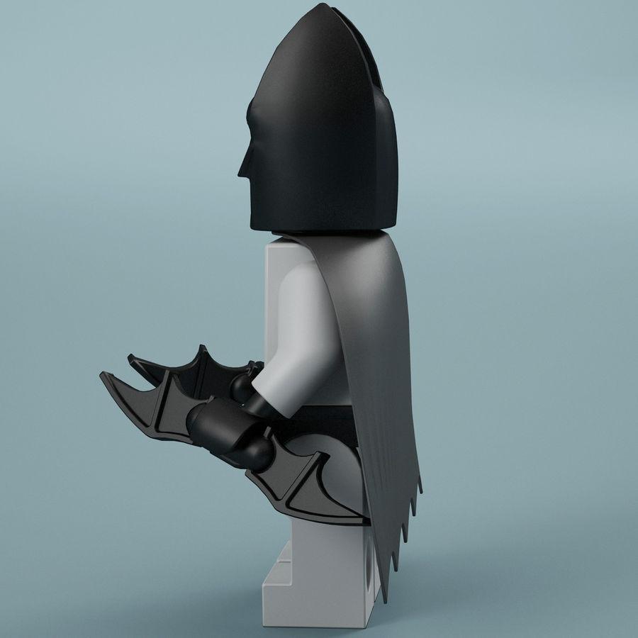 Lego Batman royalty-free 3d model - Preview no. 5