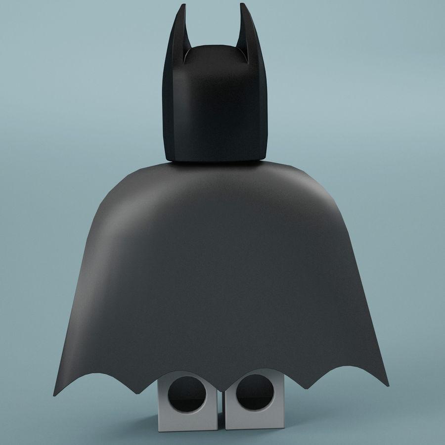 Lego Batman royalty-free 3d model - Preview no. 7