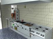Greek commercial kitchen 3d model