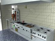 Grekiskt kommersiellt kök 3d model