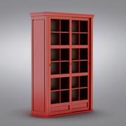 Pottery Barn - Andover Cabinet - Garrett Glass Cabinet 3d model