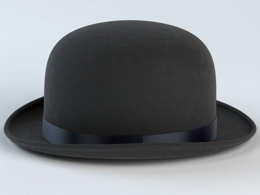 礼帽 royalty-free 3d model - Preview no. 4
