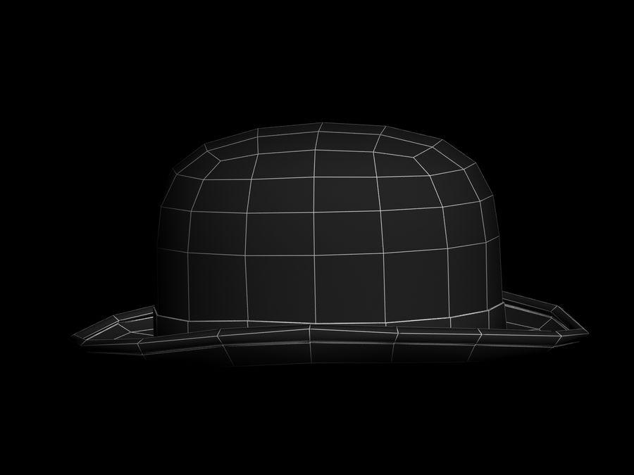 礼帽 royalty-free 3d model - Preview no. 10