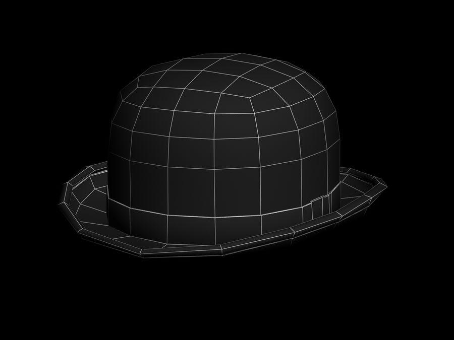 礼帽 royalty-free 3d model - Preview no. 8