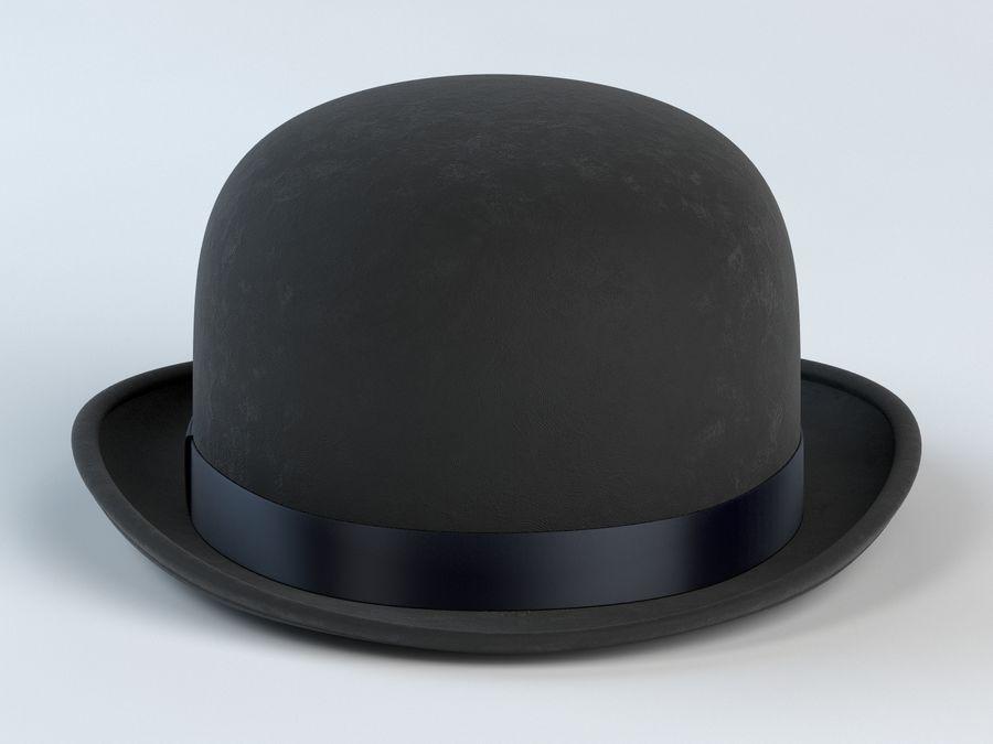 礼帽 royalty-free 3d model - Preview no. 3