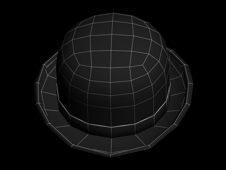 礼帽 royalty-free 3d model - Preview no. 9