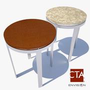 End Table Modern 3d model