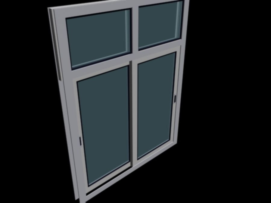 fenêtre royalty-free 3d model - Preview no. 1