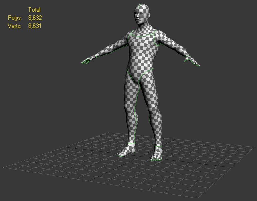 Erkek taban örgü royalty-free 3d model - Preview no. 7