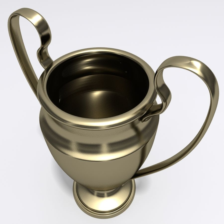 トロフィーカップ royalty-free 3d model - Preview no. 3
