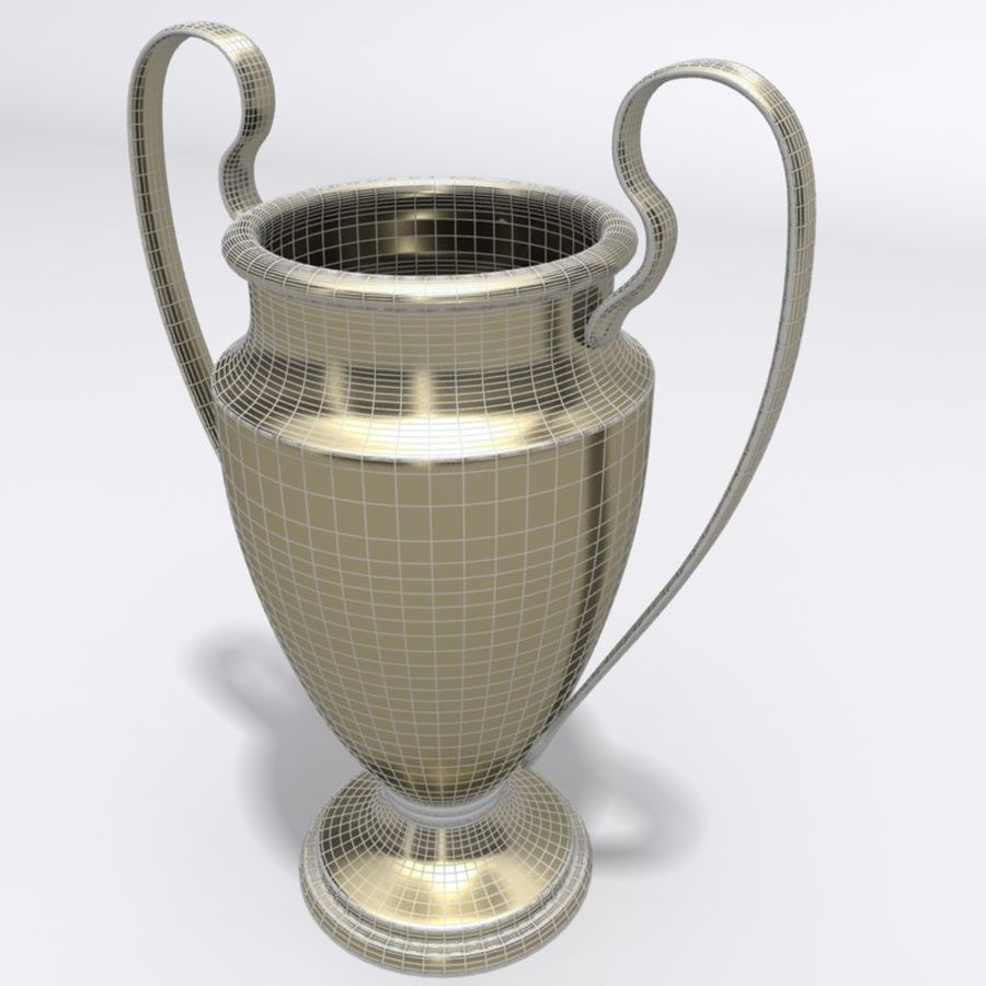 Trophy Cup royalty-free 3d model - Preview no. 6