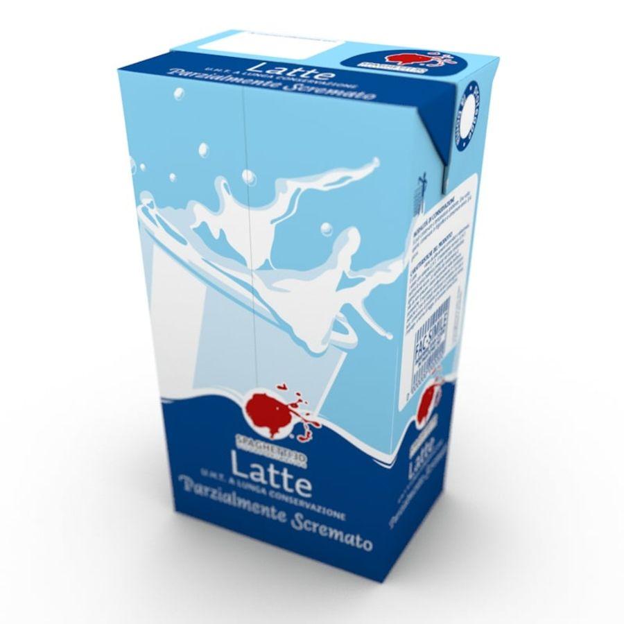 Cartón de leche royalty-free modelo 3d - Preview no. 1