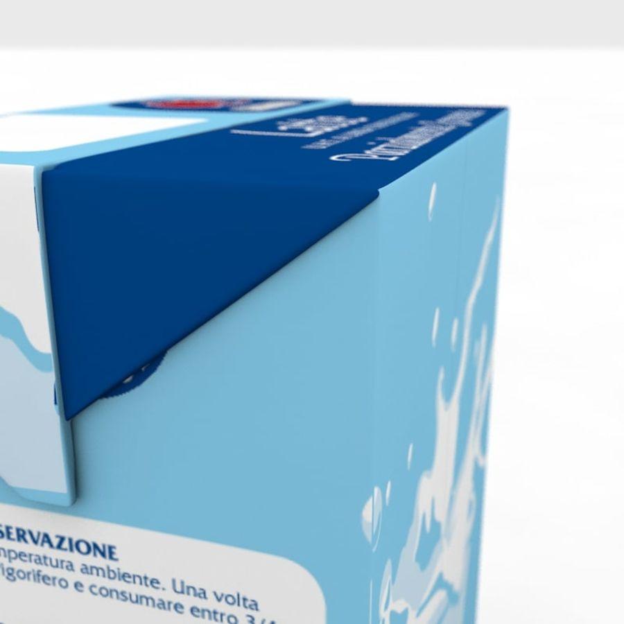 Cartón de leche royalty-free modelo 3d - Preview no. 5