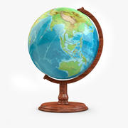 World map free 3d models download free3d globe high res 3d model gumiabroncs Choice Image