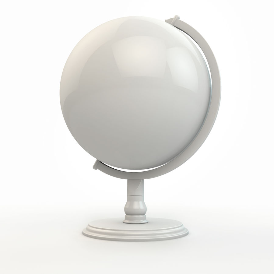 Globe - High-Res royalty-free 3d model - Preview no. 4