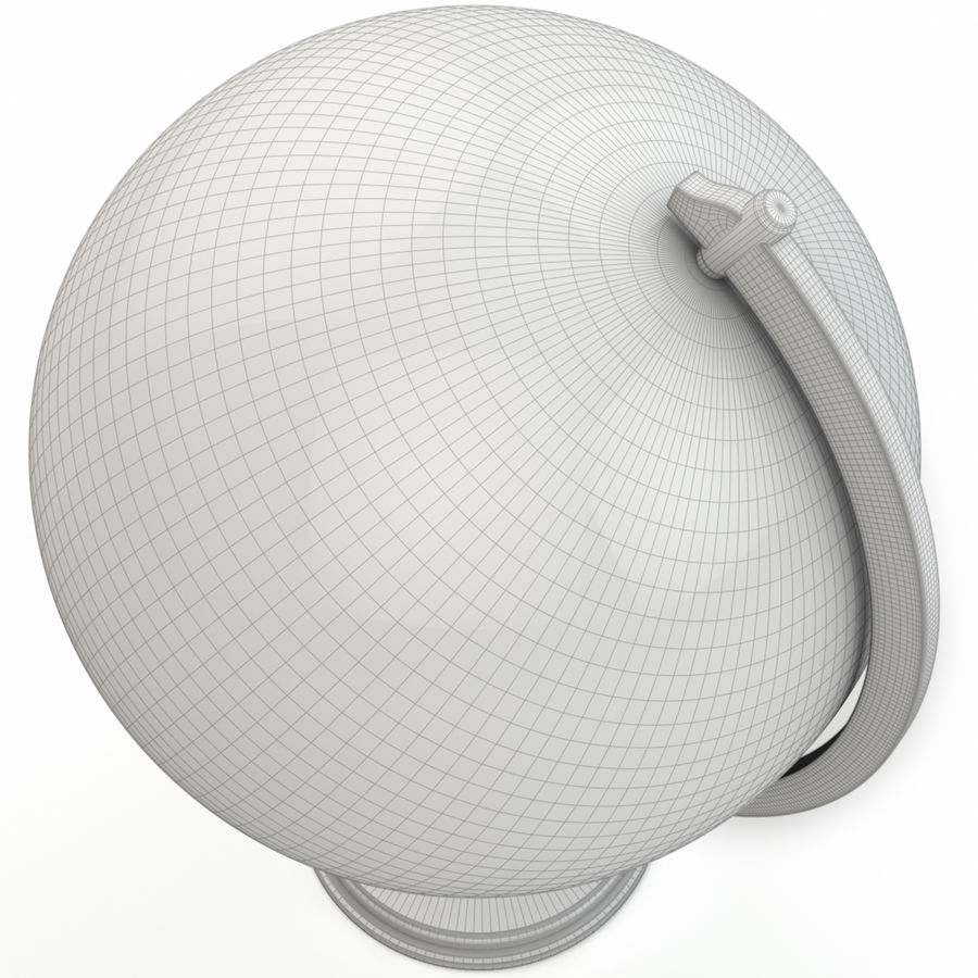 Globe - High-Res royalty-free 3d model - Preview no. 9