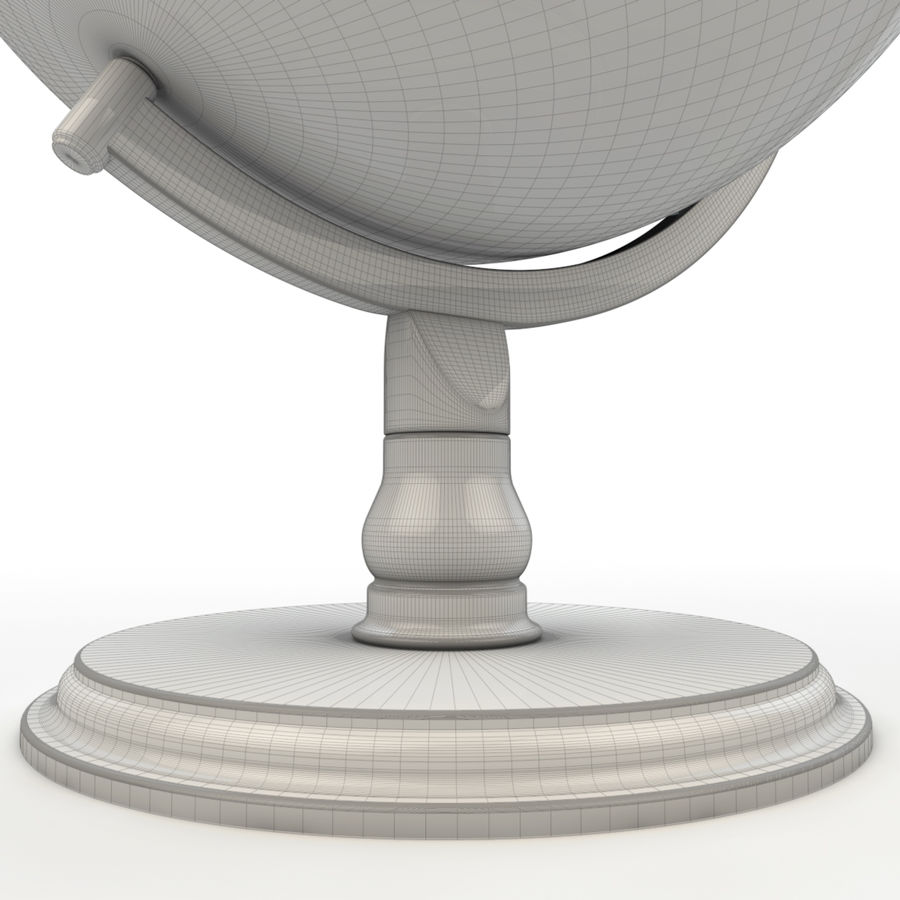 Globe - High-Res royalty-free 3d model - Preview no. 8