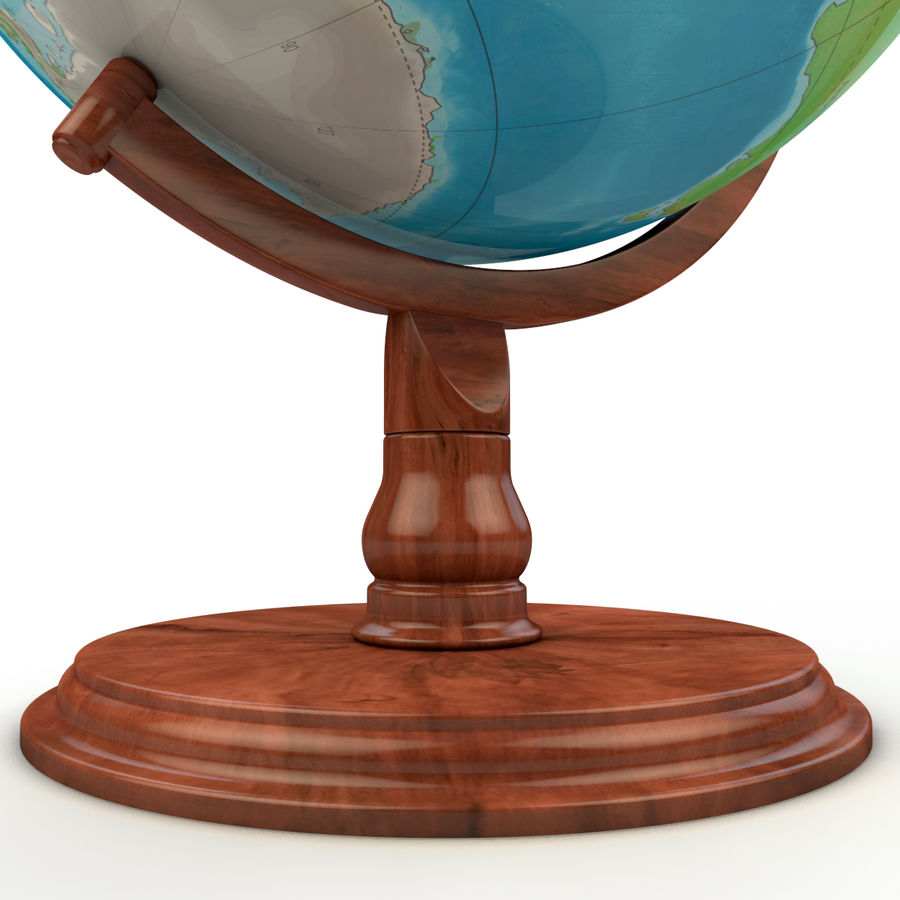 Globe - High-Res royalty-free 3d model - Preview no. 2