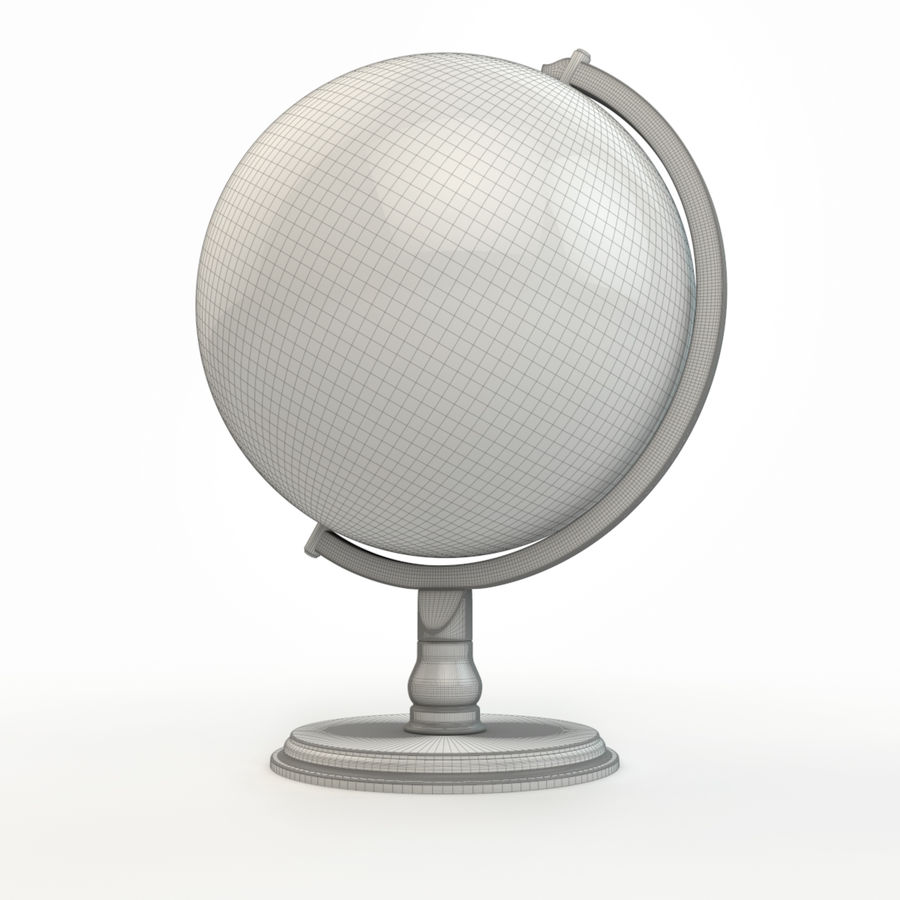 Globe - High-Res royalty-free 3d model - Preview no. 7