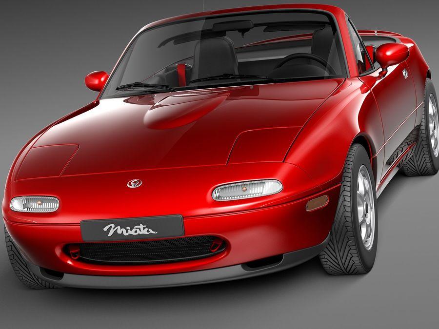 Mazda Mx 5 Miata 1989 1997 3d Modell 129 C4d Lwo Max 3ds Obj Fbx Free3d
