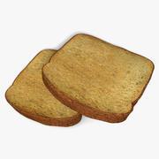 Toast 3d model