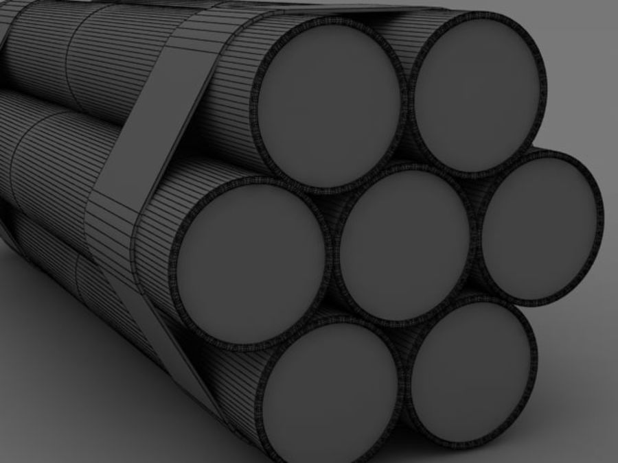 TNT wire royalty-free 3d model - Preview no. 11