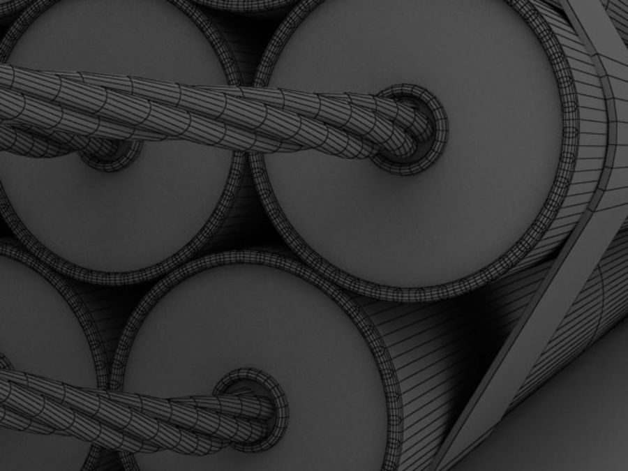 TNT wire royalty-free 3d model - Preview no. 4