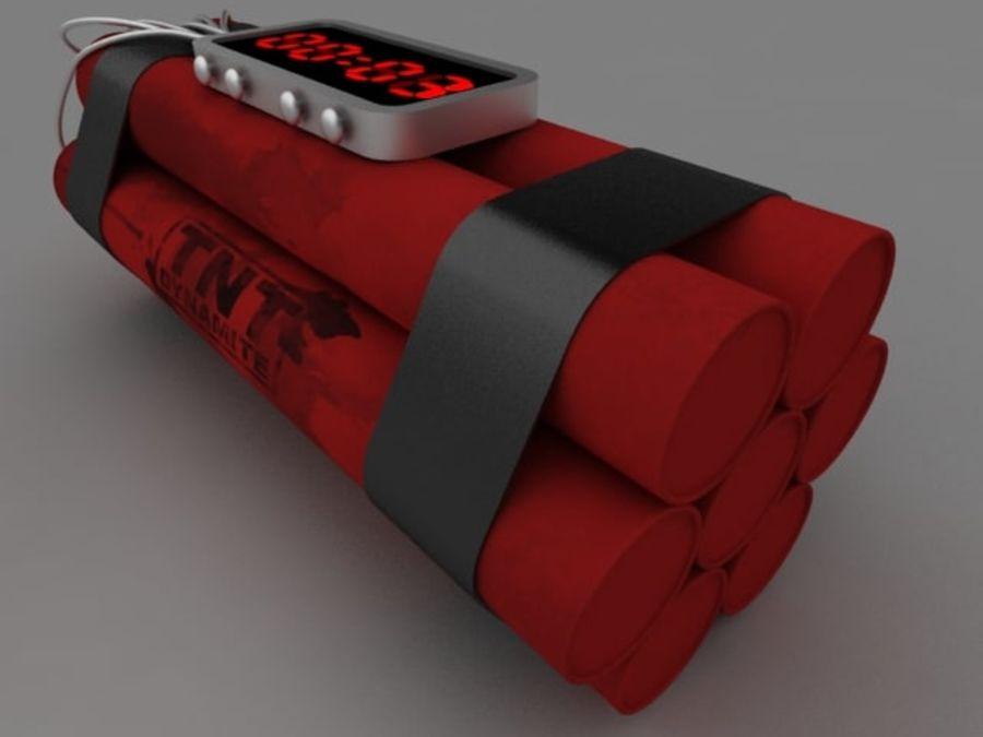 TNT klocka royalty-free 3d model - Preview no. 3