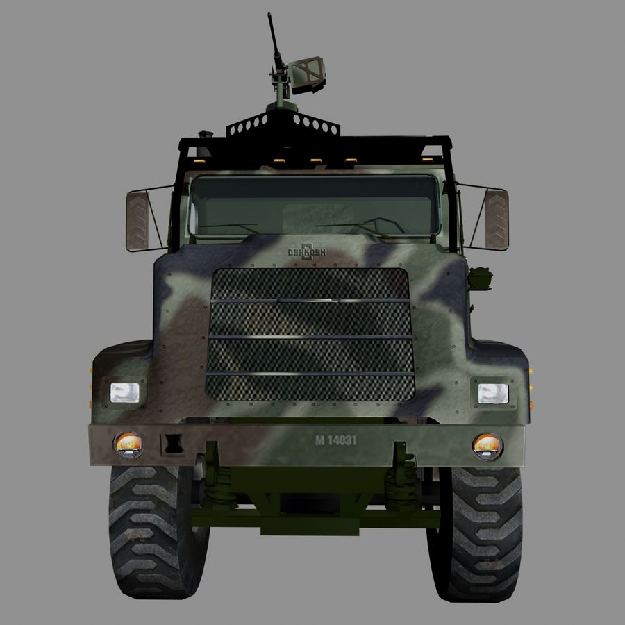 militärfordon royalty-free 3d model - Preview no. 4